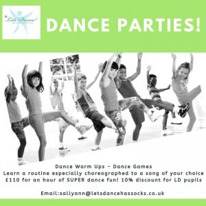 Book your Dance Party today!